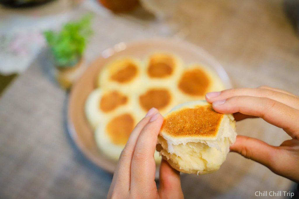 สูตรขนมปังไม่ง้อเตาอบ