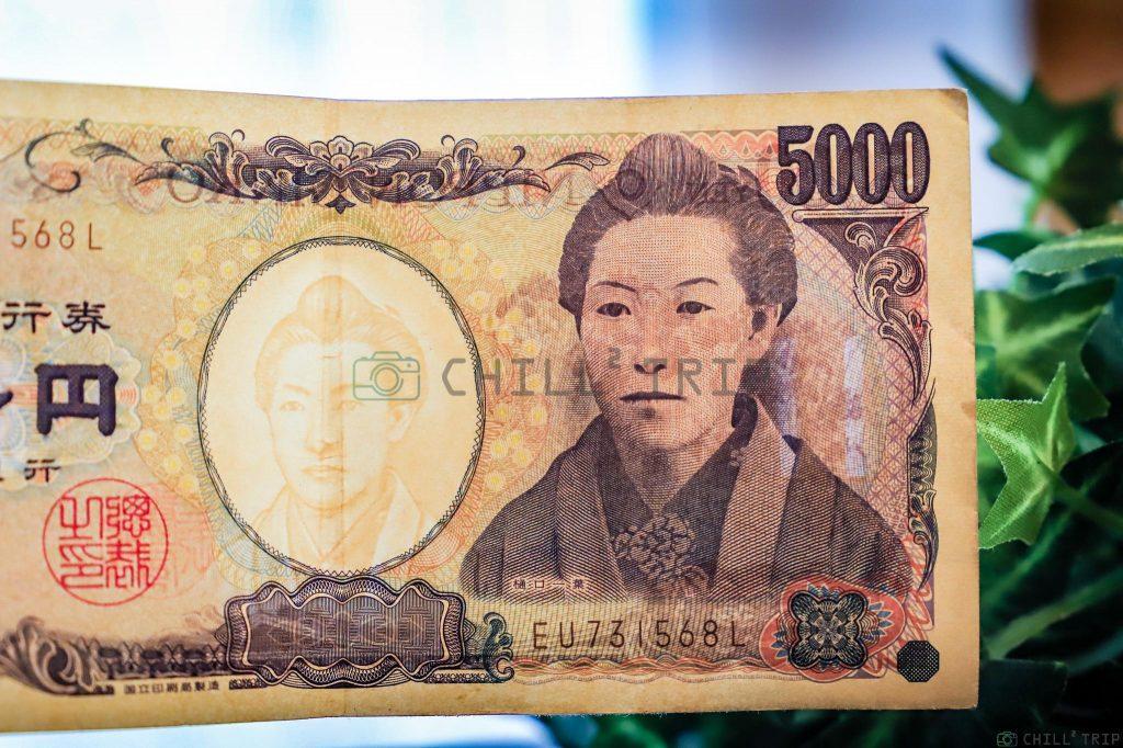 ประวัติบุคคลบนแบงค์เงินเยนของญี่ปุ่น