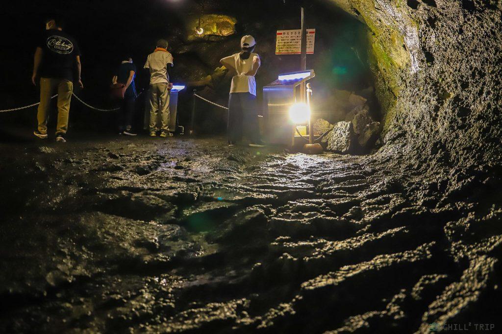 ถ้ำลมฟูจิฟุกาคุ Fugaku Lava Cave