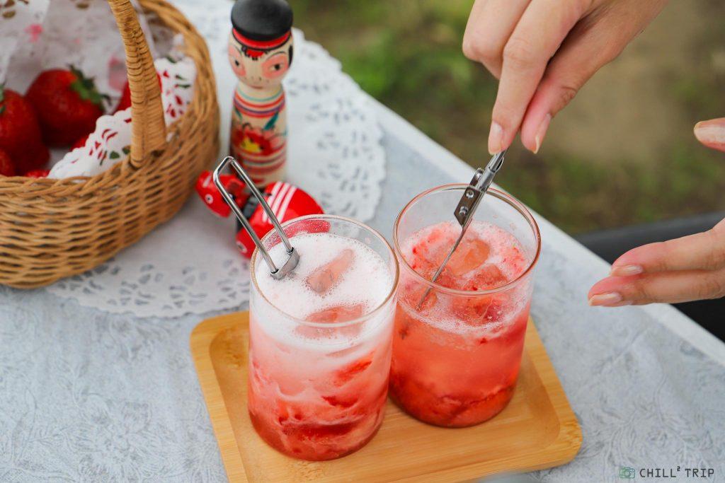 สตรอว์เบอร์รี่ไซเดอร์ Homemade (Strawberry & Cider)