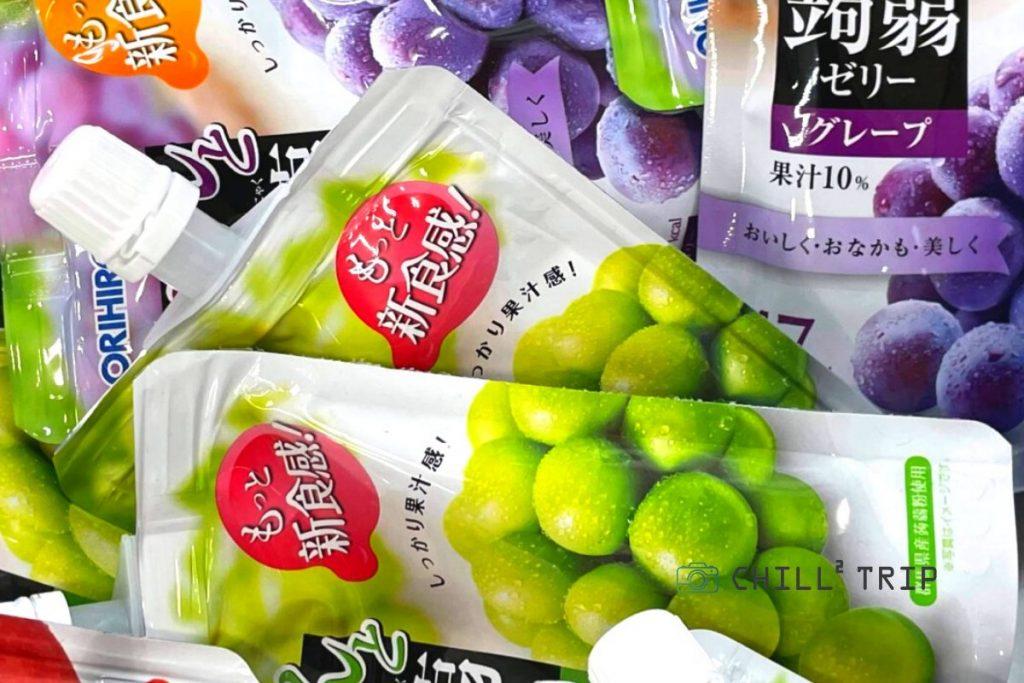 [2021] อัปเดต!!  7  รสชาติใหม่!! เยลลี่บุก ORIHIRO